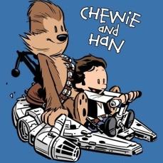 star wars meme chewie e han