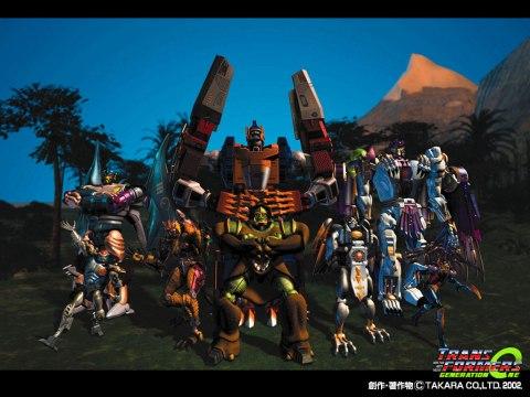 Beast Wars Maximals 1024 x 768