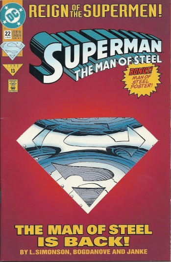 Reign Of The Supermen_The Man Of Steel_Cover